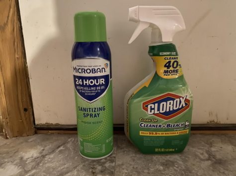 There is a difference between Cleaning and Disinfecting: